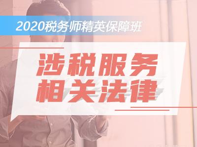 2020税务师精英保障班